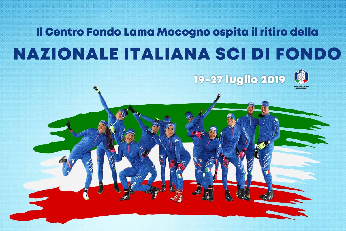 Il Centro Federale FISI Lama Mocogno ospita per il 17° anno il ritiro estivo della Nazionale Italiana di Sci di Fondo