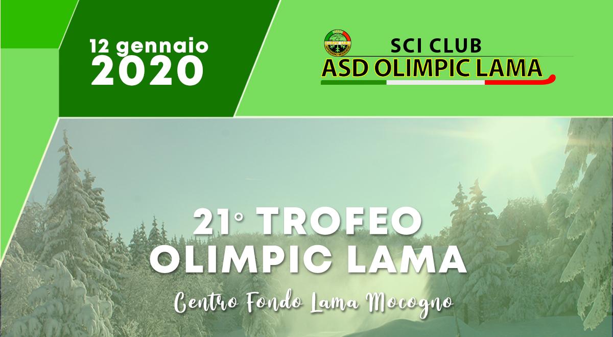 21° Trofeo Olimpic Lama - 12.01.2020