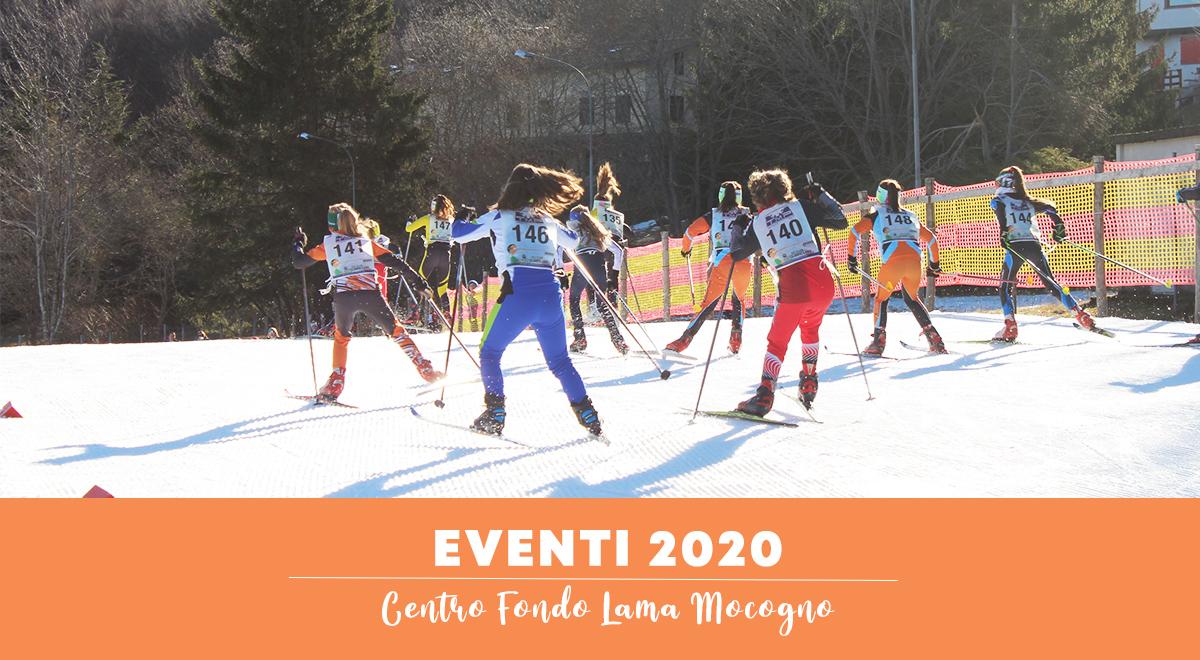 APPUNTAMENTI 2020 - Chiusura piste al pubblico per eventi sportivi