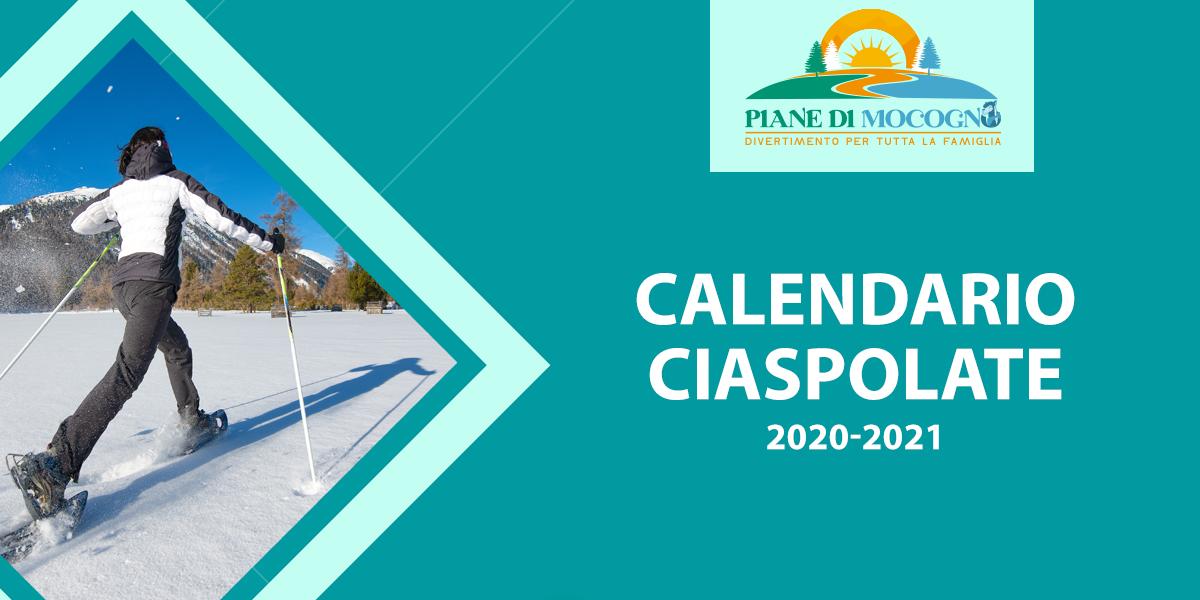 Calendario Ciaspolate 2020-2021